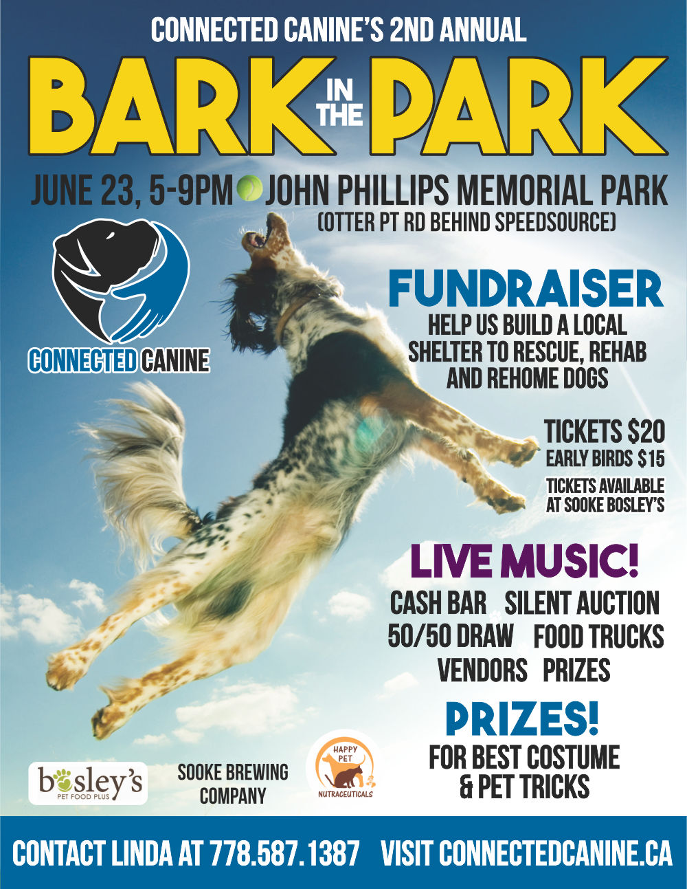 Bark in the Park Poster